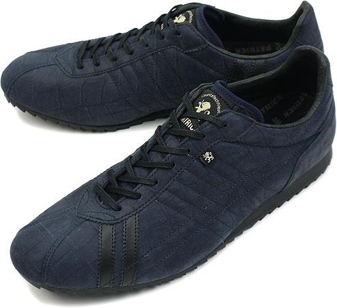 PATRICK パトリック スニーカー メンズ レディース 靴 SULLY-CR シュリークロコ BLK(523101 SS11SP)日本製 Made in Japan