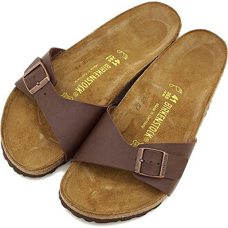 BIRKENSTOCK Birkenstock Womens mens MADRID sandal Madrid BF D-Brown ( 040391 / 040393 ) fs3gm
