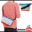 【即納】CHUMS×atmos チャムス×アトモス バッグ ショルダーバッグ Mini Collect Shoulder ミニ コレクトショルダー BLUE/GRAY (ACU-NC-S200 SS14)【bp】【あす楽対応】