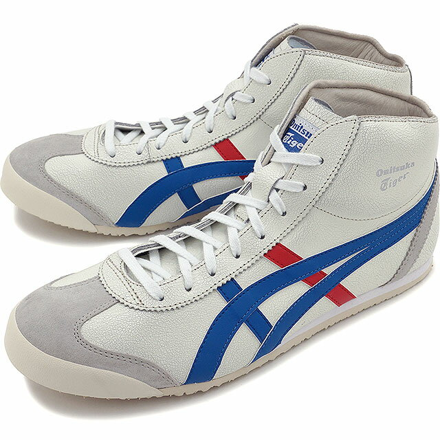 onitsuka tiger mid runner blue