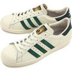 adidas Originals アディダス オリジナルス スニーカー 靴 SUPERSTAR 80s VINTAGE DX スーパースター エイティーズ ヴィンテージ DX ビンテージホワイトS15/カレッジエイトグリーン/オフホワイト (B35981 SS15)