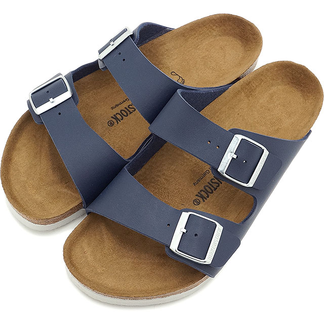 birkenstock arizona navy white