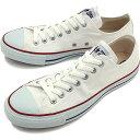コンバース キャンバス オールスター ローカット CONVERSE CANVAS ALL STAR OX オプティカルホワイト 靴