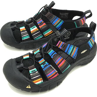 KEEN Newport H2 MNS Sandals Male Raya Black Bright Black (1001942)