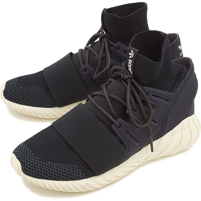 Adidas Men Tubular Doom Primeknit black granite vintage white