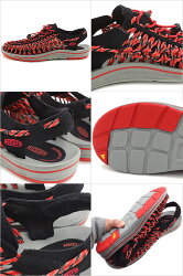 KEEN�������󥺥������UNEEKSLICEFADEMEN��ˡ������饤���ե�����Black/RacingRed��1014613SS16��