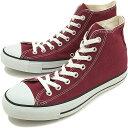 【即納】コンバース キャンバス オールスター ハイカット CONVERSE CANVAS ALL STAR HI マルーン 靴 (32060132)【e】【コンビニ受取対応商品】