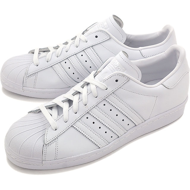 adidas Superstar Foundation B27136 Mens White Leather Casual