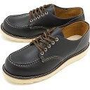 REDWING レッドウィング ブーツ メンズ IRISH SETTER アイリッシュセッター オックスフォード シューズ Black Klondike (9894 SS17)【コンビニ受取対応商品】