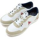 【20%OFF/SALE】ルコック スポルティフ レディース スニーカー 靴 セギュール 2 le coq sportif SEGUR II ホワイト/ネイビー/レッド [QFM6113WN][e][ts]