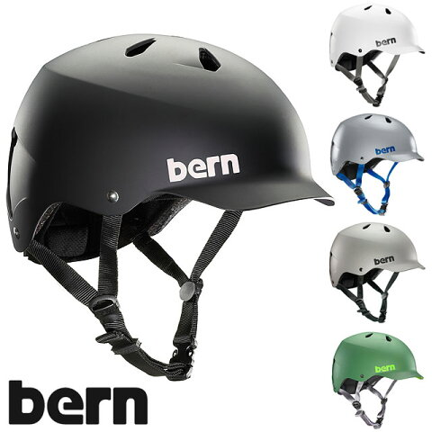 【JAPAN FIT】bern バーン ヘルメット MNS メンズ WATTS ワッツ (VM5)【コンビニ受取対応商品】