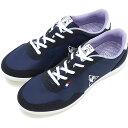【40%OFF/SALE】le coq sportif ルコック レディース スニーカー 靴 SEGUR II セギュール2 ワイド ネイビー [QFM7111NW SS17][e][ts]