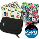 【即納】【メール便可】KAVU カブー 財布 Zippy Wallet ジッピー ウォレット 二つ折り セカンドウォレット (11863961 SS17)【コンビニ受取対応商品】