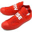 【即納】CONVERSE コンバース スニーカー 靴 メンズ・レディース ALL STAR 100 BIGGORE SLIP OX オールスター 100 ビッグゴア スリップ ローカット レッド (32862622 SS18)【e】【コンビニ受取対応商品】