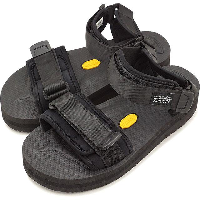 【即納】スイコック SUICOKE ストラップ スポーツサンダル 厚底 ビブラム CEL-VPO 靴 メンズ・レディース BLACK [OG-064VPO SS18]