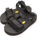 鞋子 - 【即納】スイコック SUICOKE ストラップ スポーツサンダル 厚底 ビブラム CEL-VPO 靴 メンズ・レディース BLACK (OG-064VPO SS18)【コンビニ受取対応商品】