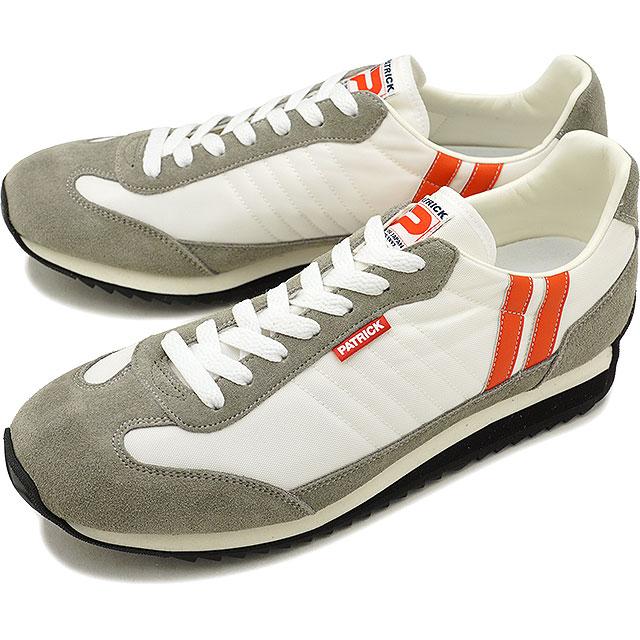【即納】【返品送料無料】PATRICK パトリック スニーカー MARATHON マラソン S.CRM メンズ・レディース 靴 (94000 SS18)【コンビニ受取対応商品】