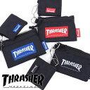 【40%OFF/SALE】スラッシャー THRASHER コイン&カードケース コインケース メンズ・レディース ブラック [THRSG122 SS18]【e】【ts..
