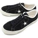 【限定モデル】コンバース CONVERSE ワンスター J スエード ONE STAR J SUEDE メンズ レディース 日本製 スニーカー 靴 ブラック [32356911 SS19]