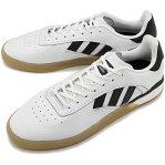 【8/5限定!楽天カードで最大16倍】アディダス スケートボーディング adidas SKATEBOARDING メンズ 3ST.004 スケートシューズ スニーカー 靴 R.WHITE/C.BLACK ホワイト系 [DB3153 SS19]