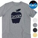 【楽天カードで4倍】カブーKAVU メンズ アップル Tシャツ Apple Tee 半袖 [19820233 SS20]【メール便可】【e】【メール便送料無料】