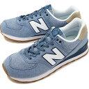 【40%OFF/ラスト1足27.5cm】ニューバランス newbalance ML574 メンズ レディース スニーカー 靴 STB BLUE/HEMP ブルー系 ML574STB SU19 ts e