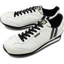 【返品交換送料無料】【限定復刻モデル】パトリック PATRICK マラソン・レザー MARATHON-L メンズ・レディース スニーカー 日本製 靴 W/B ホワイト系 [98900]