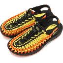 【楽天カードで17倍】キーン KEEN レディース ユニーク フラット WOMEN UNEEK FLAT サンダル 靴 Vibrant Yellow/Flame [1020799 SS19]
