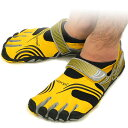 [immediate delivery] Five Vibram FiveFingers vibram five fingers men KMD SPORT Yellow/Black vibram five fingers finger shoes raise of wages feet (M3648) [bpl] [tomorrow easy correspondence]