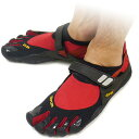 [immediate delivery] It is fs2gm five Vibram FiveFingers vibram five fingers men TREK SPORT Red/Black vibram five fingers finger shoes raise of wages feet (M4438) [bpl] [tomorrow easy correspondence]