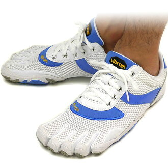■ 35 %OFF! surprise ■ Vibram FiveFingers Vibram five fingers mens SPEED White/Blue/Grey Vibram five fingers five finger shoes barefoot ( M364 ) fs3gm