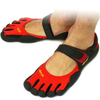 Time ■ sale! 35 %OFF! surprise ■ Vibram FiveFingers Vibram five fingers men SPRINT Red/Black/Black five fingers shoes barefoot ( M113 )
