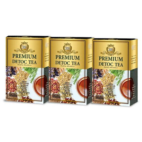 プレミアムデトックティー3箱セット ティー 紅茶 健康食品 美容 お茶 健康茶 ミッシーリスト