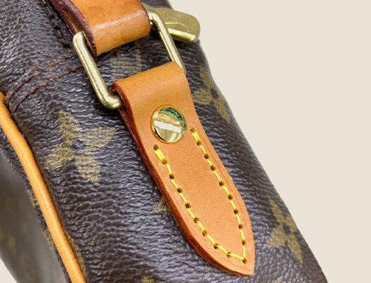 バッグ 修理 付根革交換(2カ所セット)鞄 かばん 修理 カバン リペア お直し 壊れた 革 皮革 ブランド 修繕 クリーニング