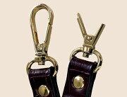 バッグ 修理 金具(ナスカン)交換(2カ所セット) 鞄 かばん 修理 カバン リペア お直し 壊れた 革 皮革 ブランド 修繕 クリーニング