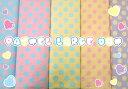 【オックス生地】Pastel Large Dot【パステル/ドット/水玉/フェアリー系/ロリィタ/入園入学/通園/巾着/レッスンバッグ/シューズケース】