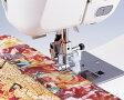 ブラザーミシン家庭用ミシン専用実用縫い押さえ『ガイド付きまつり縫い押え』 【F017N】(水平釜ジグザグふり幅7mm用)