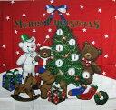 クリスマス タペストリー メール便対応可 壁掛け 布製 日本製 9999 クリスマスツリー