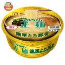 東洋水産 マルちゃん正麺 カップ 濃厚とろ豚骨 116g×12個入