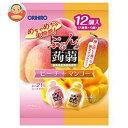 オリヒロ ぷるんと蒟蒻ゼリー ピーチ+マンゴー 20g×12個×12袋入