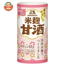 森永製菓 森永のやさしい米麹甘酒 125mlカートカン×30本入