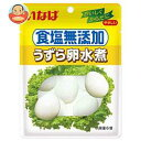 いなば食品 食塩無添加うずら卵 6個パウチ×8袋入