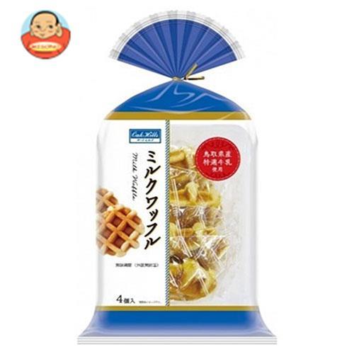 丸中製菓ミルクワッフル4個×6袋入