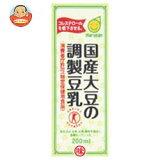 Marusanai(股)的豆浆200毫升纸盒× 24国内大豆此项目的研制[マルサンアイ 国産大豆の調製豆乳【特定保健用食品 特保】 200ml紙パック×24本入]