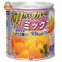 送料無料 【2ケースセット】はごろもフーズ 朝からフルーツ ミックス 190g缶×24個入×(2ケース) ※北海道・沖縄は別途送料が必要。