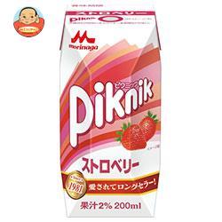 森永乳業 ピクニック ストロベリー(プリズマ容器...の商品画像