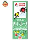 紀文 豆乳飲料 青汁フルーツ200ml紙パック×18本入