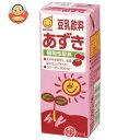 マルサンアイ(株) 豆乳飲料 あずき200ml紙パック×24本入