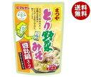 送料無料 マルサンアイ まつや とり野菜みそ 豆乳鍋スープ 720g×8袋入×(2ケース) ※北海道・沖縄・離島は別途送料が必要。