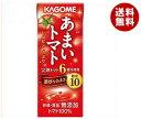 【送料無料】カゴメ あまいトマト 200ml紙パック×24本入 ※北海道 沖縄 離島は別途送料が必要。
